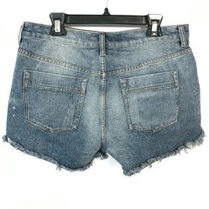 Free People Shorts - free people Tulum Embroidered Jean Shorts